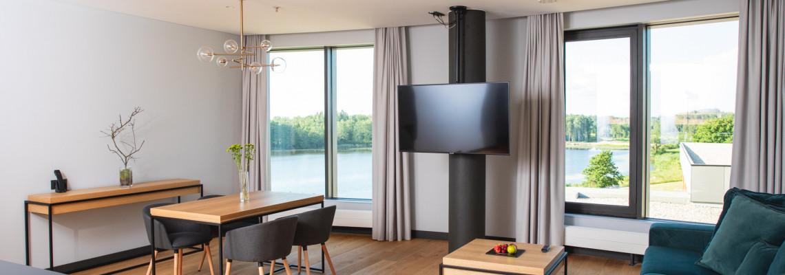 Deluxe apartamentai su įėjimu į VITALITY baseiną